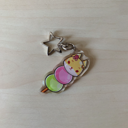 "Epoxy charm ""Dango"""